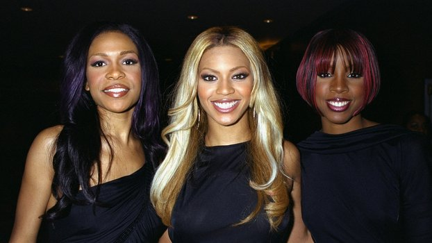 Michelle Williams, Beyonce Knowles, and Kelly Rowland (l. to