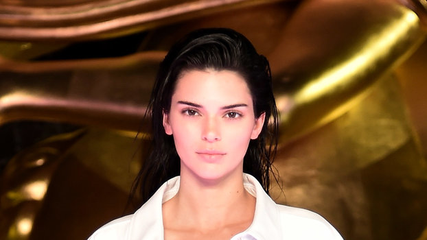Kendall Jenner Alexander Wang Collection 1 fashion show