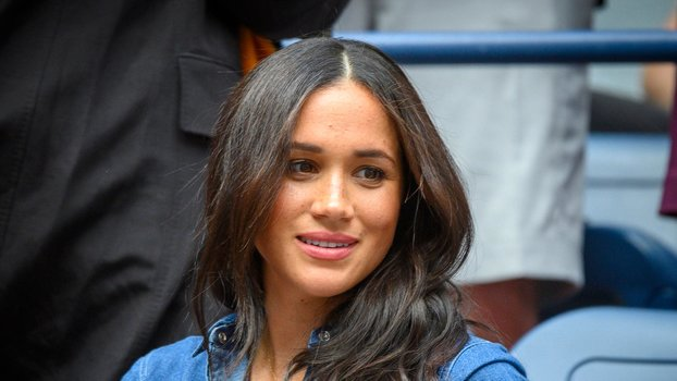 Flushing, N.Y: Meghan Markle, Duchess of Sussex was in Serena Williams' box during the Williams match against Bianca Andreescu of Canada during the Women's Final at the US Open at the USTA Billie Jean King National Tennis Center in Flushing, New York...