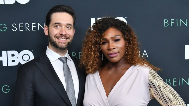 Serena Williams Using Her Husband as a Wig Stand Is What True Love Looks Like