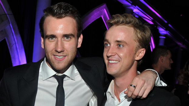 Tom Felton Matthew Lewis  Harry Potter And The Deathly Hallows: Part 2  New York Premiere - After Party