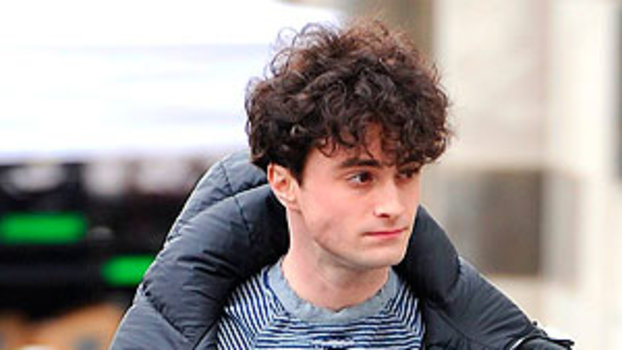 From Curly To Sleek Daniel Radcliffe Gets A Hair Makeover