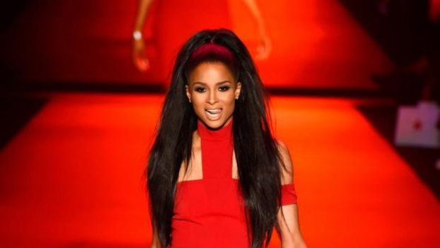 Ciara at Go Red For Women Red Dress Collection