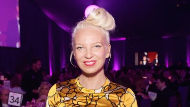 Sia Ditches Her Wig for a Voluminous Updo | InStyle.com