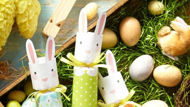 Rabbit Runn Designs A Kitchen Makeover: Bunny-Inspired Home Goods For Easter And Spring
