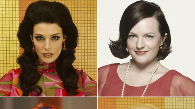 Mad Men Hair Try On