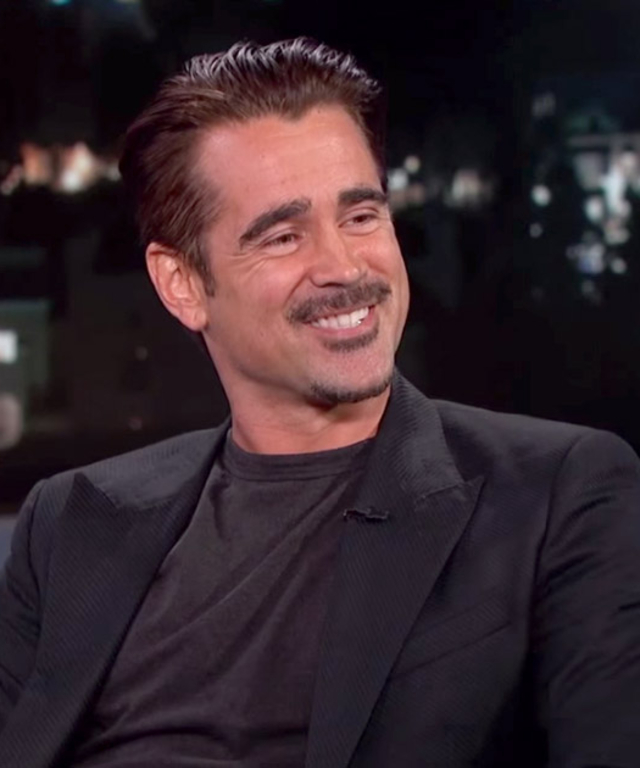 Colin Farrel on Jimmy Kimme