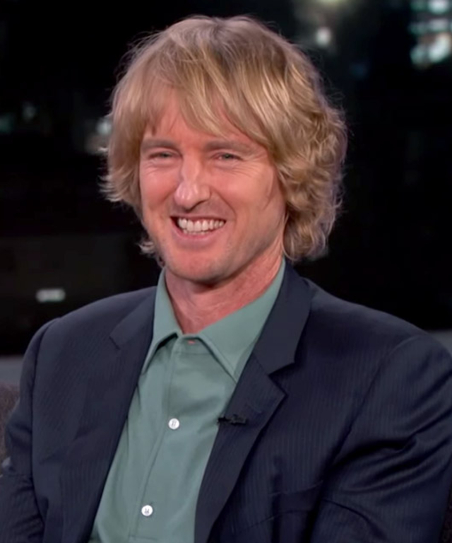 Owen Wilson on Jimmy Kimmel Live!