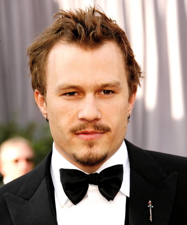 "Heath Ledger, nominee Best Actor in a Leading Role for ""Brokeback Mountain"" (Photo by Dan MacMedan/WireImage)"