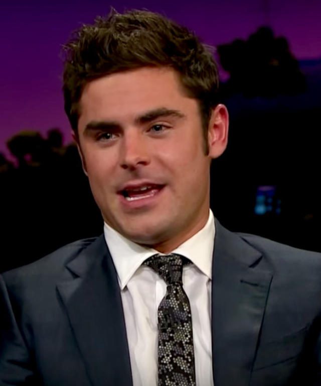 Zac Efron on James Corden