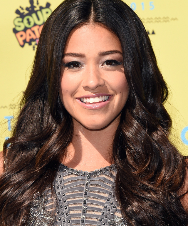 Actress Gina Rodriguez attends the Teen Choice Awards 2015 at the USC Galen Center on August 16, 2015 in Los Angeles, California.