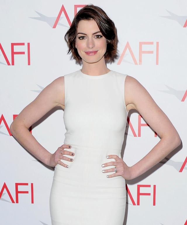 Anne Hathaway Now And Then: Anne Hathaway