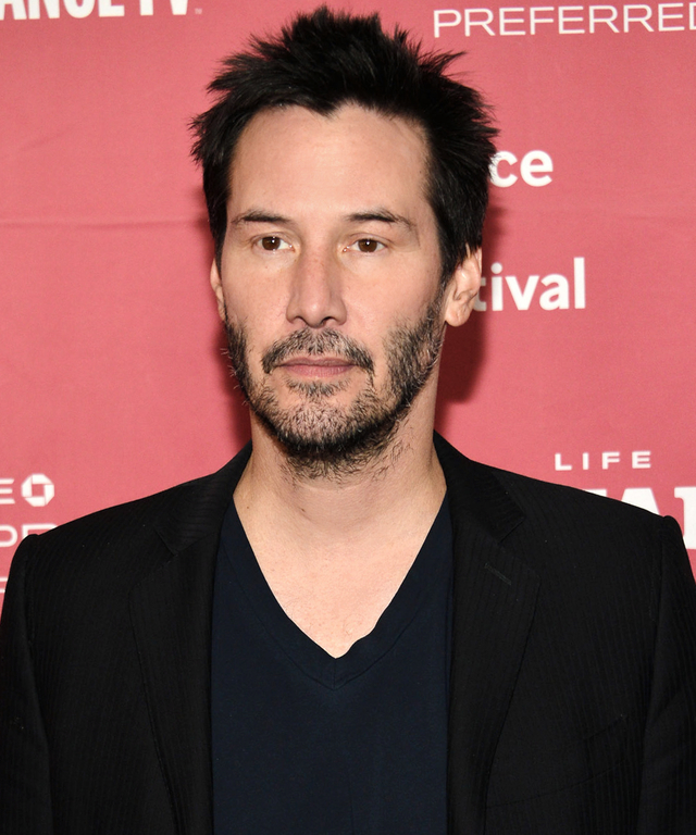 PARK CITY, UT - JANUARY 23:  Keanu Reeves attends the  Knock Knock  Premiere - 2015 Sundance Film Festival on January 23, 2015 in Park City, Utah.  (Photo by Araya Diaz/Getty Images for Sundance)