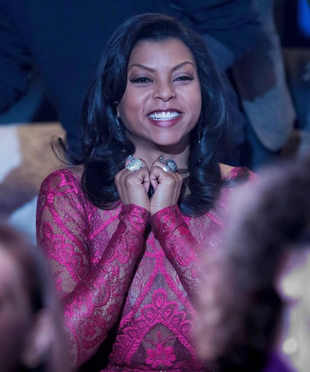 """EMPIRE: Cookie (Taraji P. Henson) watches the performance in the special two-hour """"Die But Once/Who I Am"""" Season Finale episode of EMPIRE airing Wednesday, March 18 (8:00-10:00 PM ET/PT) on FOX. (Photo by FOX via Getty Images)"""