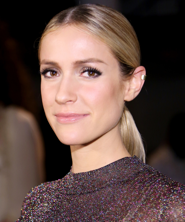 NEW YORK, NY - SEPTEMBER 16:  Kristin Cavallari attends The Blonds fashion show during Spring 2016 MADE Fashion Week at Milk Studios on September 16, 2015 in New York City.  (Photo by Monica Schipper/Getty Images)