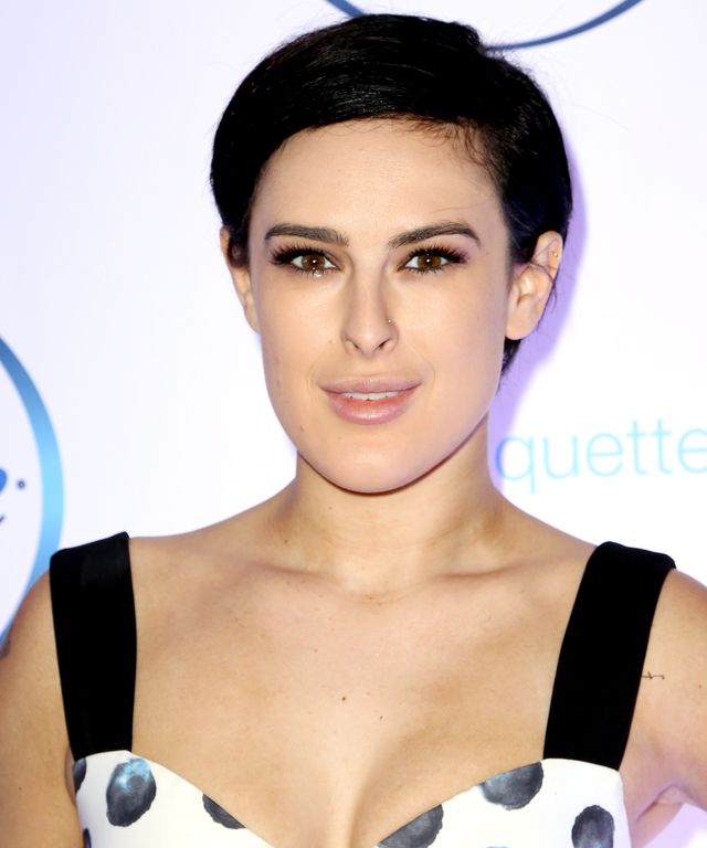 NEW YORK, NY - SEPTEMBER 25:  Rumer Willis attends the Febreze School Of #Petiquette Opening at Liberty Hall at Ace Hotel on September 25, 2015 in New York City.  (Photo by Walter McBride/WireImage)