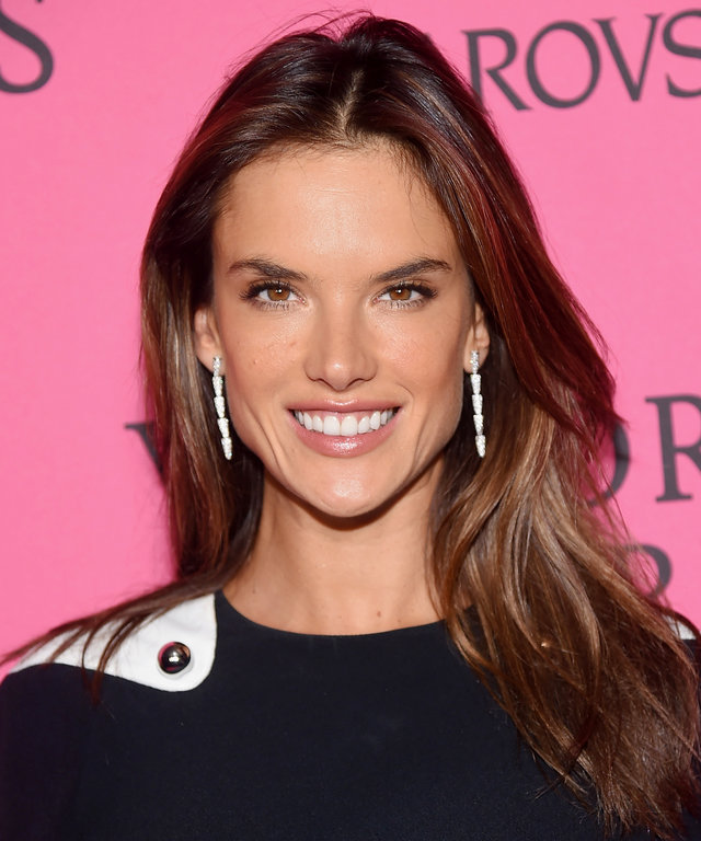 NEW YORK, NY - NOVEMBER 10:  Model Alessandra Ambrosio attends the 2015 Victoria's Secret Fashion After Party at TAO Downtown on November 10, 2015 in New York City.  (Photo by Michael Loccisano/Getty Images for Victoria's Secret)