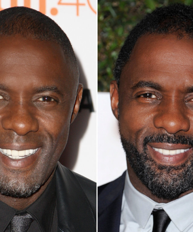Beard or No Beard - Idris Elba