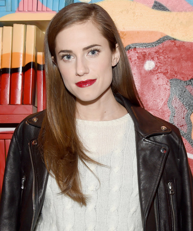 NEW YORK, NY - JANUARY 15:  Actress Allison Williams attends the VANDAL Grand Opening in New York City on January 15, 2016 in New York City.  (Photo by Jamie McCarthy/Getty Images for Vandal)