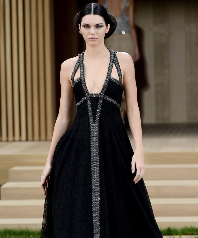Kendall Jenner and Her Squad Take Over the Chanel Haute Couture Show