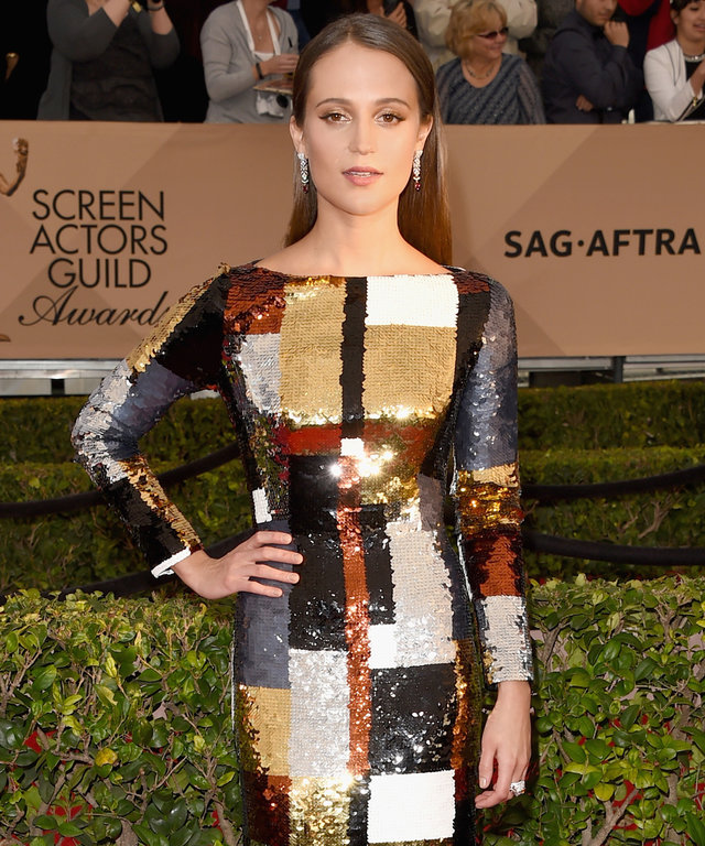Alicia Vikander - Screen Actors Guild Awards 2016