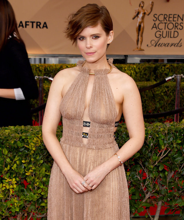 January 30, 2016 Los Angeles, Ca. Kate Mara 22nd Annual Screen Actors Guild Awards held at the Shrine Auditorium © OConnor-Arroyo/AFF-USA.com
