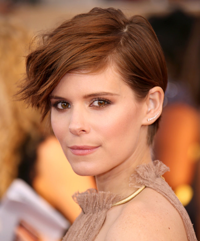 2016 Dan MacMedanLOS ANGELES, CA - JANUARY 30: Actress Kate Mara attends the 22nd Annual Screen Actors Guild Awards at The Shrine Auditorium on January 30, 2016 in Los Angeles, California. (Photo by Dan MacMedan/WireImage)