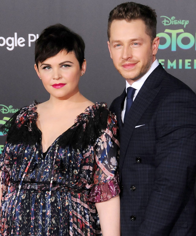 HOLLYWOOD, CA - FEBRUARY 17:  (L-R) Actress Ginnifer Goodwin and husband actor Josh Dallas attend the Premiere of Walt Disney Animation Studios' 'Zootopia' at the El Capitan Theatre on February 17, 2016 in Hollywood, California.  (Photo by Barry King/Gett