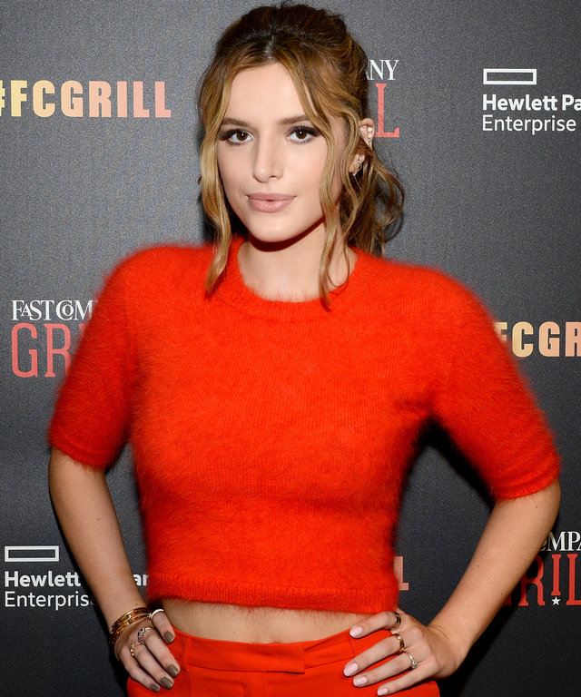 Bella Thorne attends the Fast Company Grill with Bella Thorne, Kian Lawley, Keegan-Michael Key, Gillian Jacobs on March 13, 2016 in Austin, Texas.