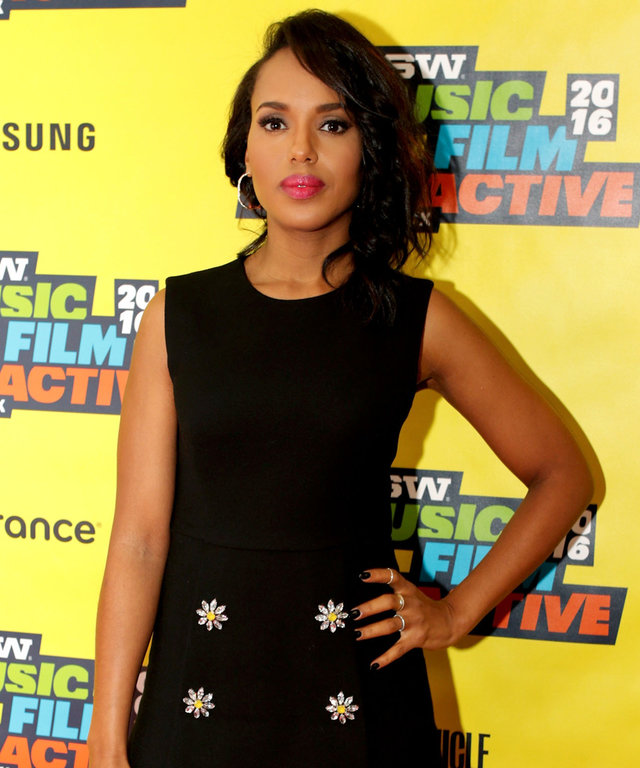 Actress Kerry Washington speaks onstage at 'Kerry Washington and the New Rules of Social Stardom' during the 2016 SXSW Music, Film + Interactive Festival at Austin Convention Center on March 13, 2016 in Austin, Texas.