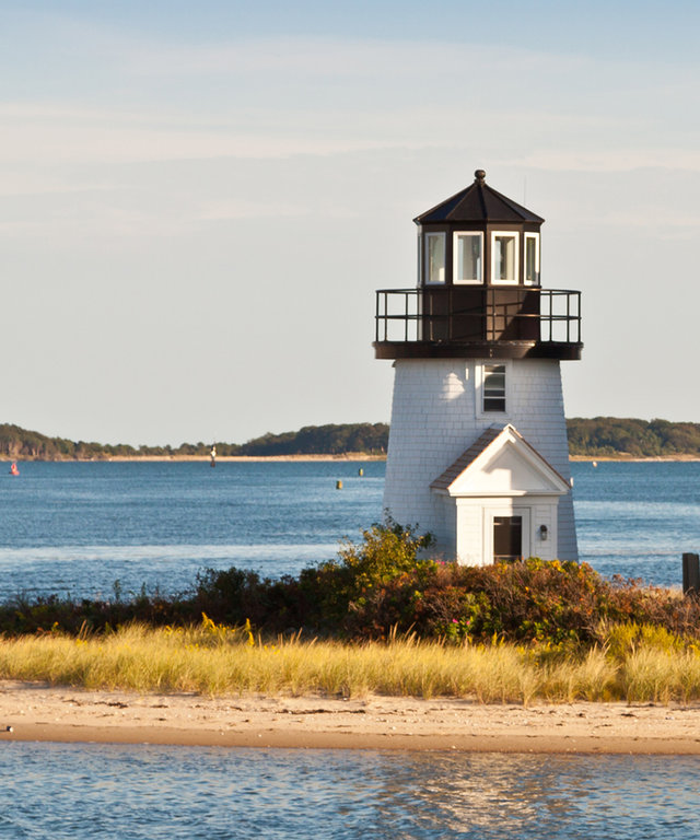 Copyright: Oleg AlbinskyLighthouse at Hyannis (Lewis Bay Light), Nantucket sound, Cape Code, Massachusetts.  Canon EOS 50D, Canon EF 24-105mm/4L IS USM Lens.