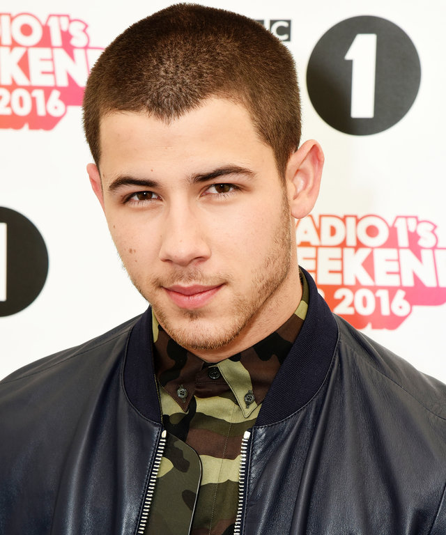 EXETER, ENGLAND - MAY 28:  Nick Jonas poses for a photo during day 1 of BBC Radio 1's Big Weekend at Powderham Castle on May 28, 2016 in Exeter, England.  (Photo by Dave J Hogan/Dave J Hogan/Getty Images)