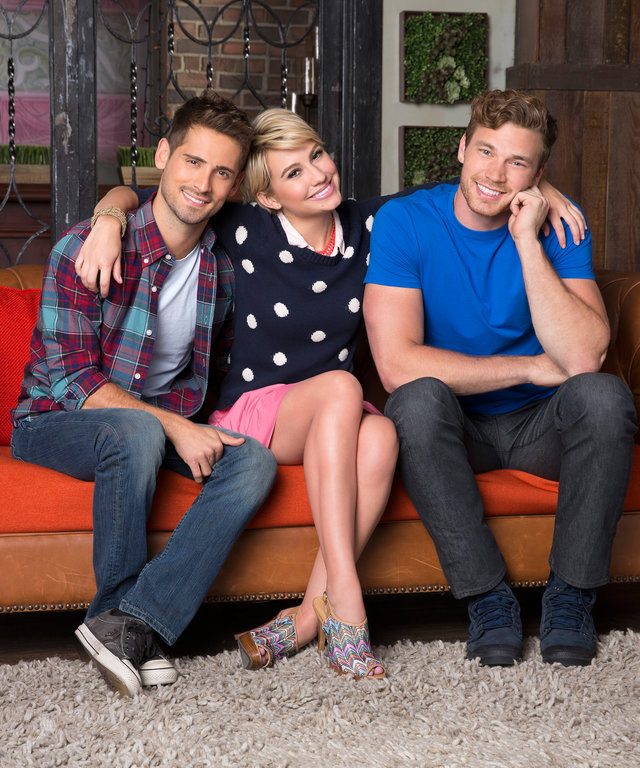 © 2014 Disney Enterprises, Inc. All rights reserved.BABY DADDY - Freeform's  Baby Daddy  stars Jean-Luc Bilodeau as Ben, Chelsea Kane as Riley and Derek Theler as Danny. (Freeform/Craig Sjodin)