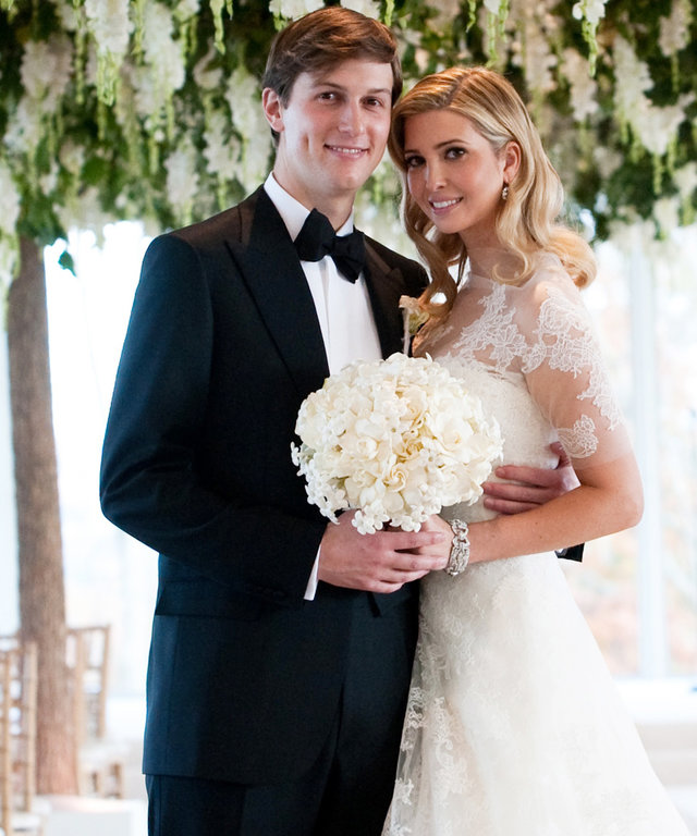2009 Ivanka Trump and Jared Kushner