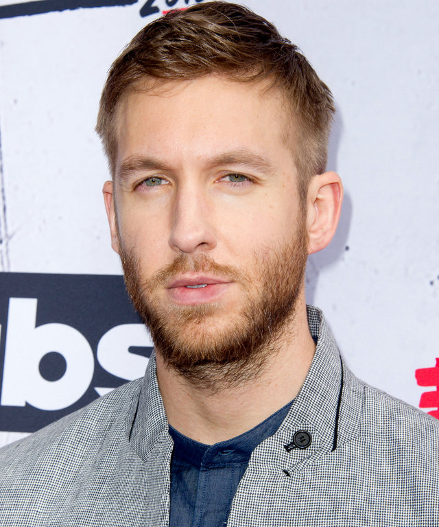 INGLEWOOD, CALIFORNIA - APRIL 03:  DJ Calvin Harris arrives at the iHeartRadio Music Awards at The Forum on April 3, 2016 in Inglewood, California.  (Photo by Allen Berezovsky/WireImage)