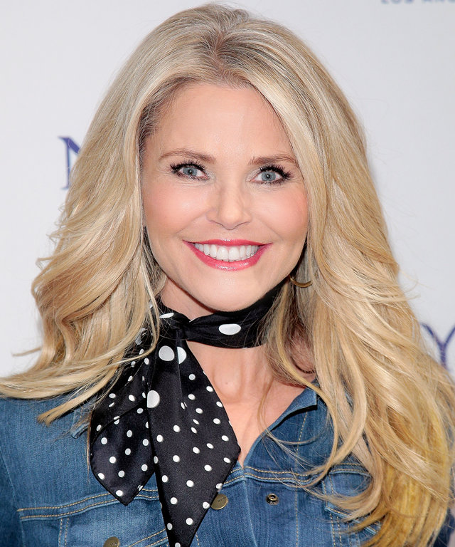 NEW YORK, NY - JANUARY 28:  Christie Brinkley attends the NYDJ 2016 Fit To Be Campaign Launch at Lord & Taylor on January 28, 2016 in New York City.  (Photo by Randy Brooke/FilmMagic)