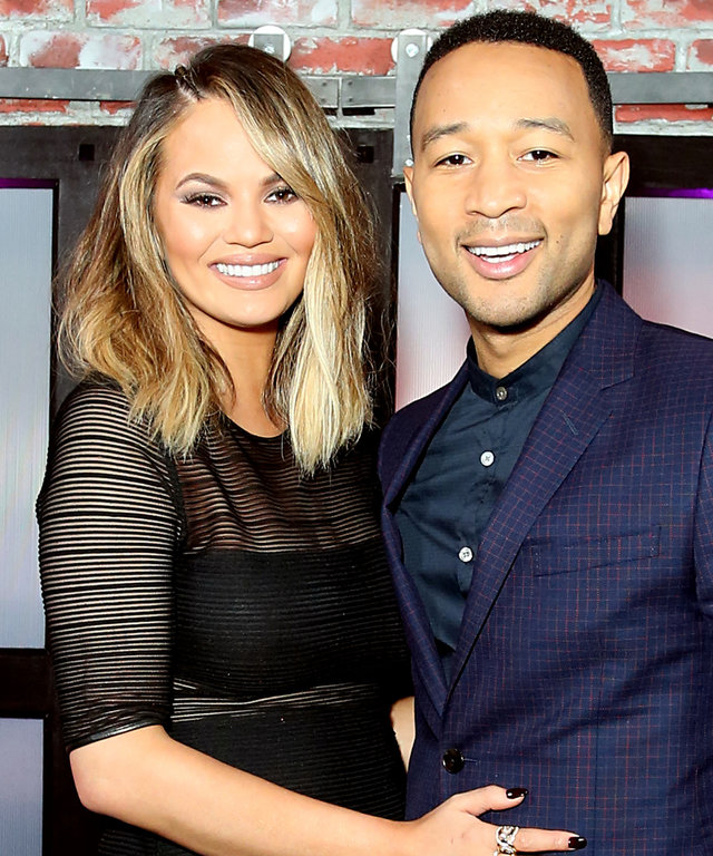 Actress Chrissy Teigen and Recording artist John Legend attend the FYC Event - Spike's 'Lip Sync Battle' at Saban Media Center on June 14, 2016 in North Hollywood, California.