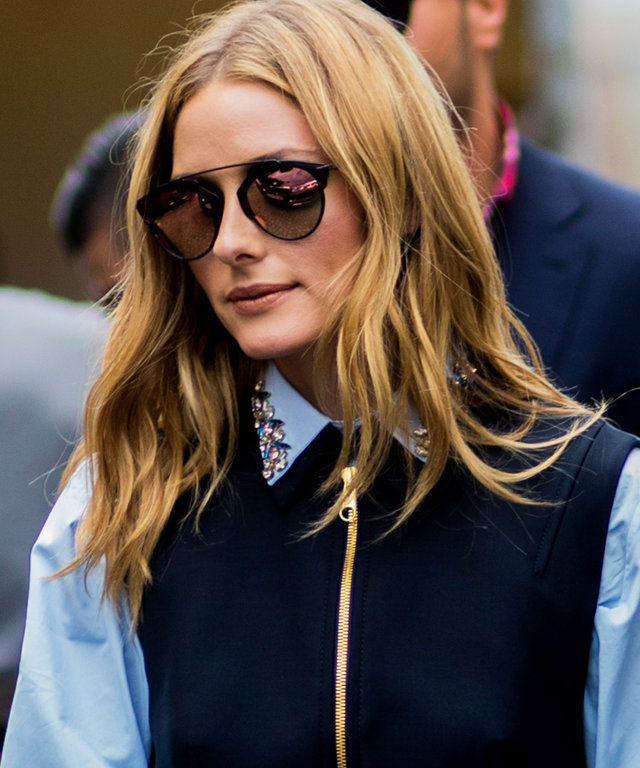 PARIS, FRANCE - JULY 04: Olivia Palermo outside Dior during Paris Fashion Week Haute Couture F/W 2016/2017 on July 4, 2016 in Paris, France. (Photo by Christian Vierig/Getty Images) *** Local Caption *** Olivia Palermo