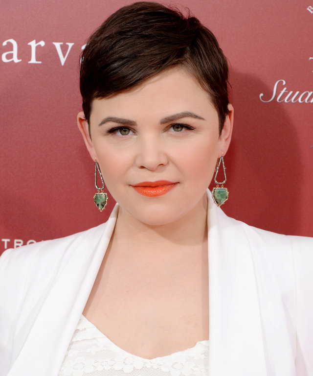 WEST HOLLYWOOD, CA - APRIL 17:  Actress Ginnifer Goodwin attends the John Varvatos 13th Annual Stuart House benefit presented by Chrysler with Kids' Tent by Hasbro Studios at John Varvatos on April 17, 2016 in Los Angeles, California.  (Photo by Michael K