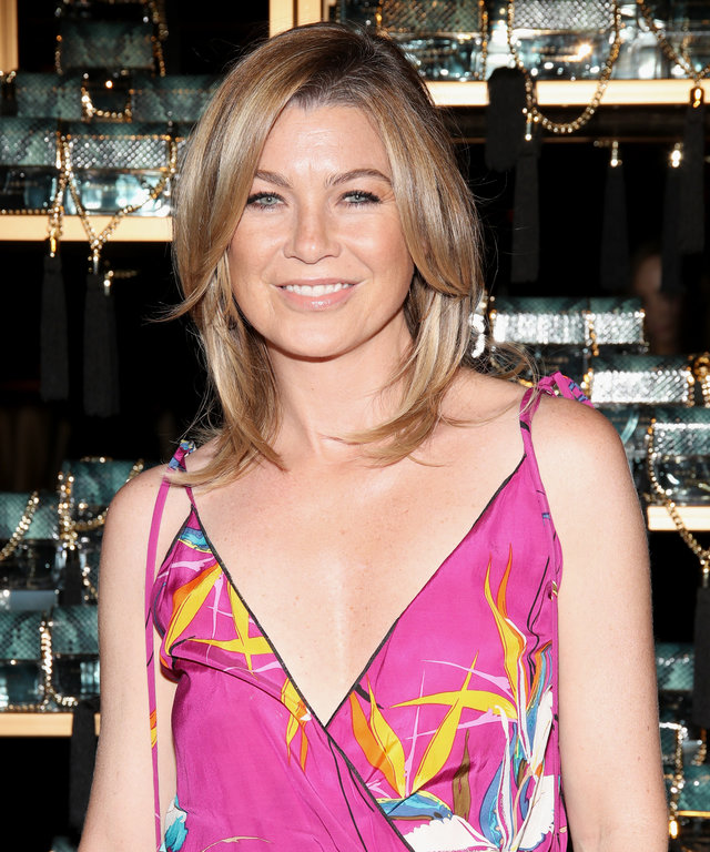 LOS ANGELES, CA - JULY 21:  Actress Ellen Pompeo attends Marc Jacobs celebrates Divine Decadence on July 21, 2016 in Los Angeles, California.  (Photo by Randy Shropshire/Getty Images for Marc Jacobs)
