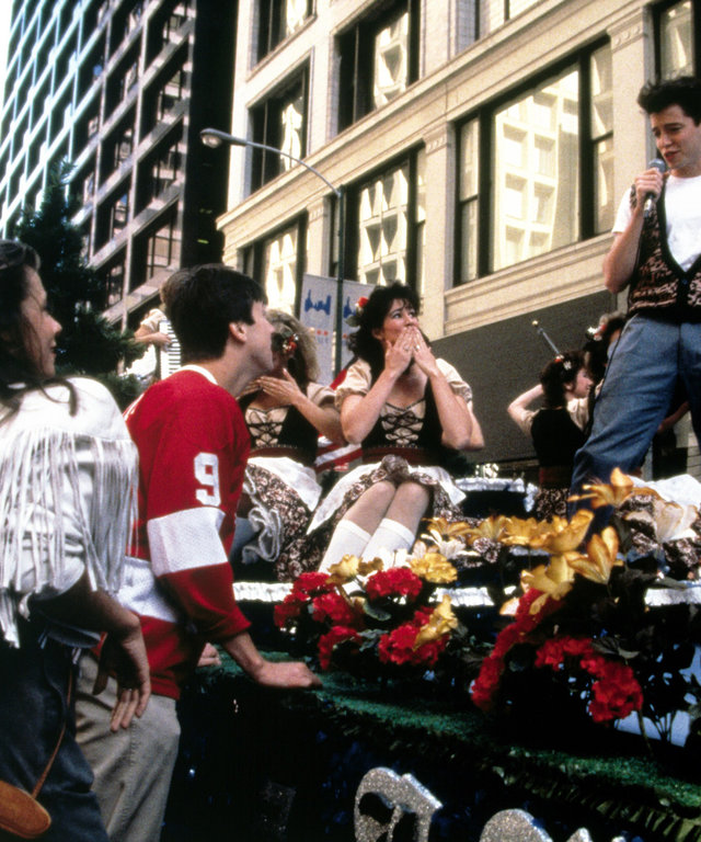 FERRIS BUELLER'S DAY OFF, Mia Sara, Alan Ruck, Matthew Broderick, 1986, (c) Paramount/courtesy Everett Collection