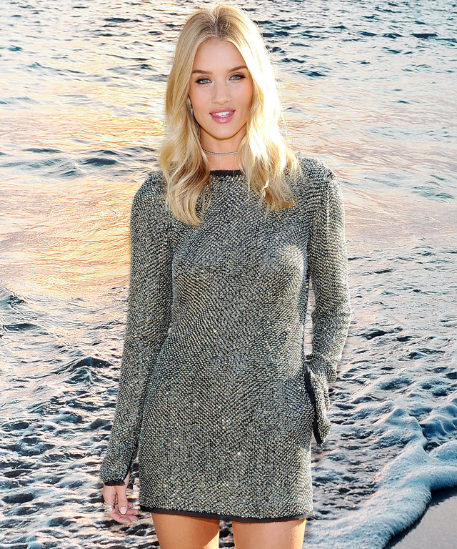 MALIBU, CA - SEPTEMBER 08:  Rosie Huntington-Whiteley celebrates fall with UGG at Little Beach House on September 8, 2016 in Malibu, California.  (Photo by Donato Sardella/Getty Images for UGG)