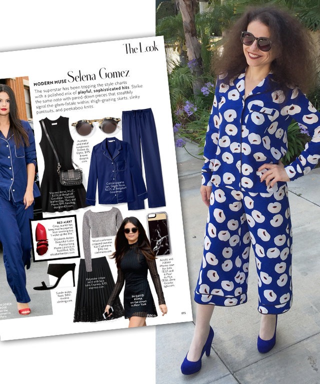 #InspiredByInStyle: See How Reader of the Week Nataša Jovanovic Rocks Pajama Chic