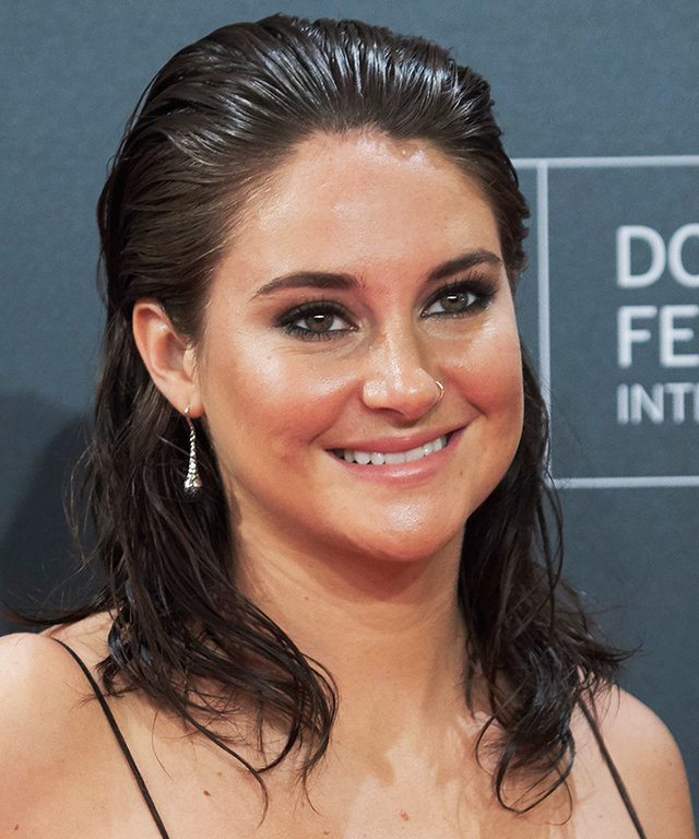 Shailene Woodley Will Convince You to Leave the House With Wet Hair