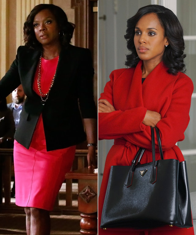 What It's Like to Dress Two of TV's Biggest Girl Bosses, Annalise Keating and Olivia Pope