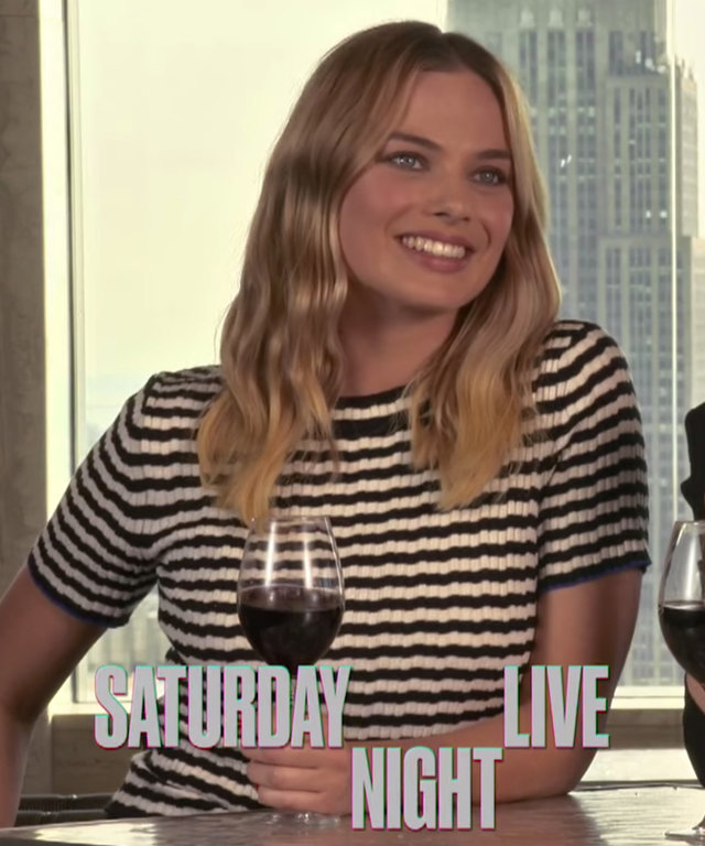 Watch Saturday Night Live Host Margot Robbie and Kate McKinnon Have a Wine-Fueled Dance Party