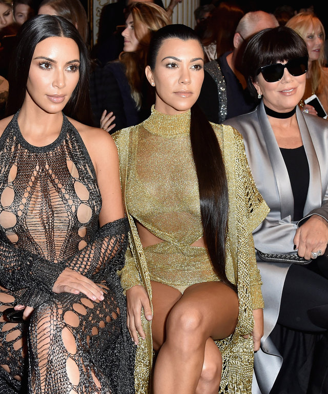 A Covered-Up Balmain Has Us Wondering: What Will Kim Kardashian West Wear Next Season?