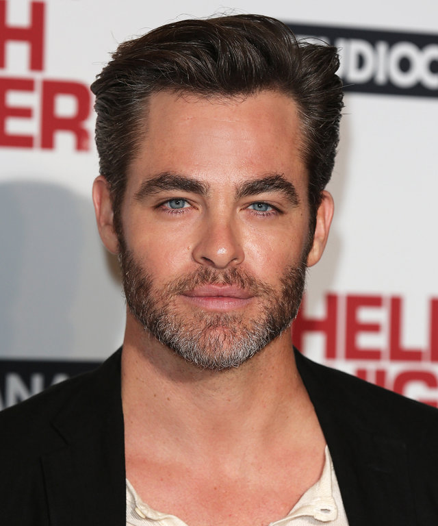 LONDON, ENGLAND - SEPTEMBER 08:  Chris Pine poses for a photo at the gala screening of Hell or High Water at Washington Hotel on September 8, 2016 in London, England.  (Photo by Tim P. Whitby/Getty Images)