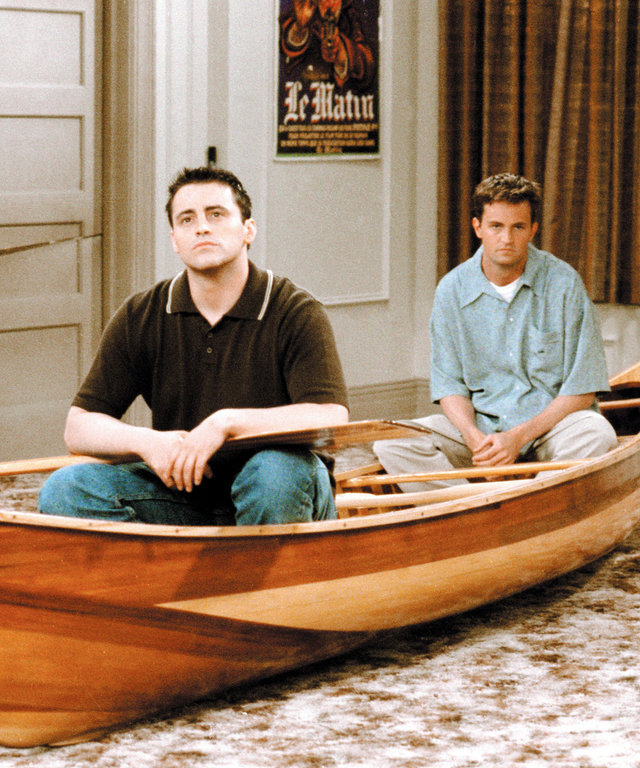 FRIENDS, Matt LeBlanc, Matthew Perry, (Season 4), 1994-2004, © Warner Bros. / Courtesy: Everett Collection