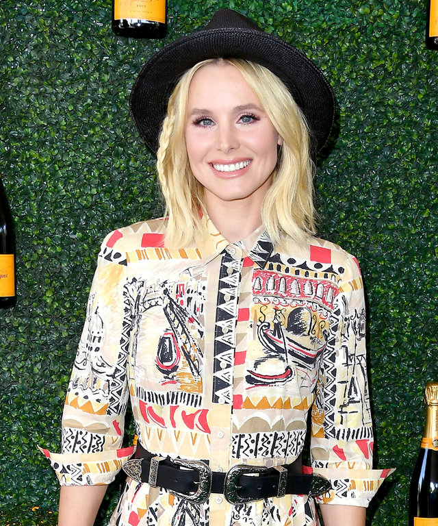 2016 Steve Granitz PACIFIC PALISADES, CA - OCTOBER 15:  Actress Kristen Bell attends the Seventh Annual Veuve Clicquot Polo Classic at Will Rogers State Historic Park on October 15, 2016 in Pacific Palisades, California.  (Photo by Steve Granitz/WireImage